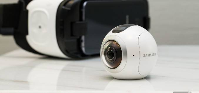 Samsung Gear 360: 360 градусная видеокамера, которая похожа на глазное яблоко
