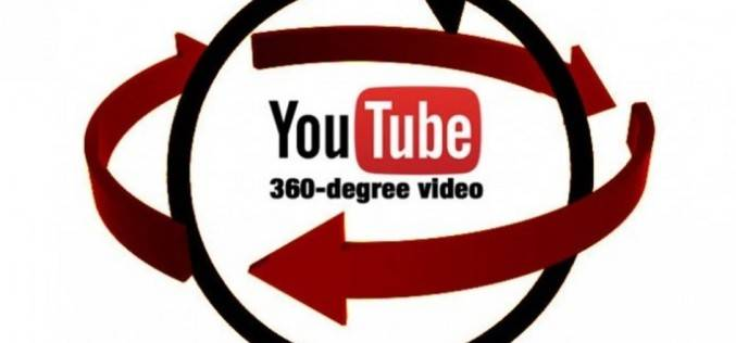 YouTube объявил о начале работ над онлайн трансляциями 360-градусных видео (видео)