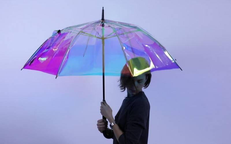 Умный зонт, который может сообщить погоду