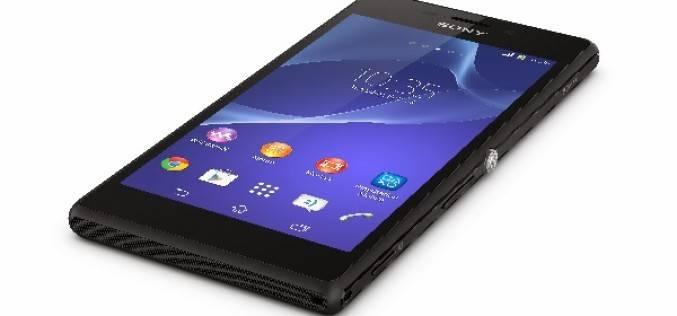 Sony показала смартфон Xperia M2 (MWC 2014)