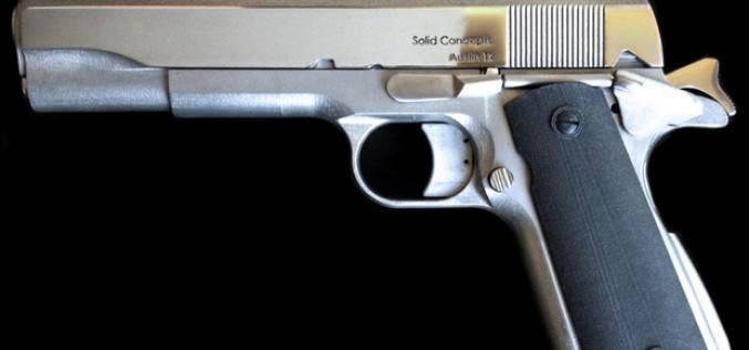 Colt 1911 — первый металлический пистолет, напечатанный на 3D принтере (фото+видео)