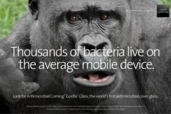 Corning представила 3D-стекло Gorilla Glass и антимикробное покрытие (CES 2014. Видео)