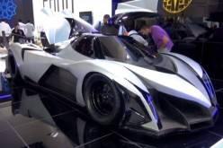 Суперкар Devel Sixteen развивает максимальную скорость в 560 км/ч (видео)