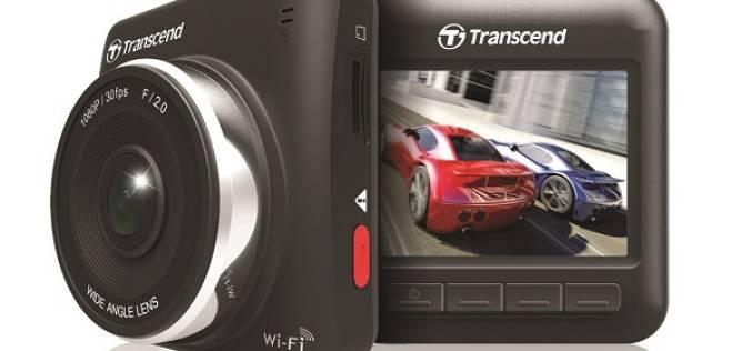 Transcend представляет автомобильный Full HD-видеорегистратор с модулем Wi-Fi