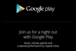 Google рассылает приглашения на мероприятие, которое состоится 24 октября