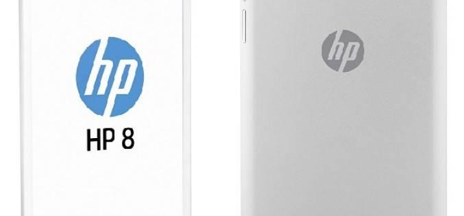 HP представила 8″ планшет бюджетного класса
