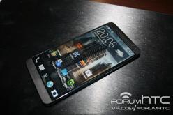 HTC M8 засветился на «живых» фото