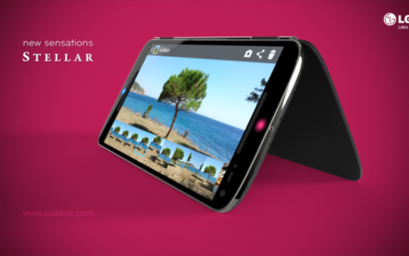 LG Stellar — концепт смартфона с фантастическими аксессуарами, расширяющими функциональность
