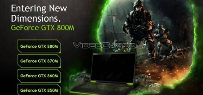 Мобильный графический адаптер NVIDIA GeForce GTX 800M (CeBIT 2014)