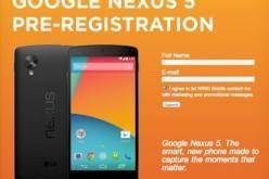 Стали известны характеристики смартфона Google Nexus 5