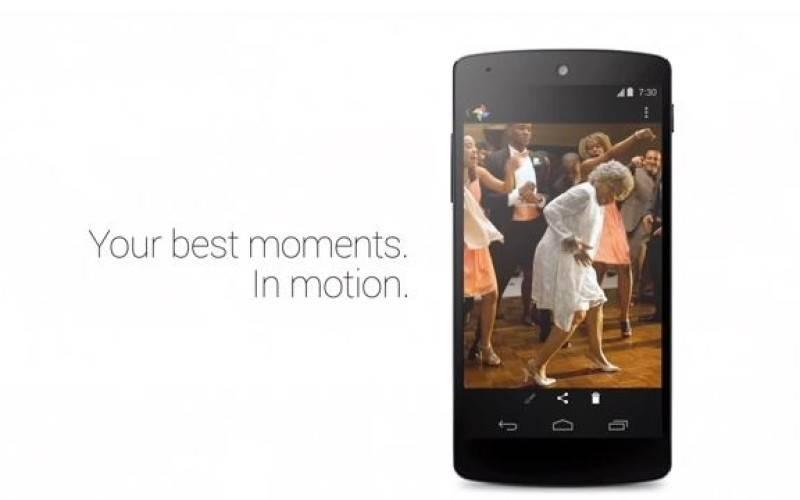 Google представила рекламные ролики, посвященные камере Nexus 5