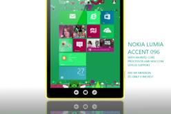 Nokia Lumia Accent 096 — планшет с 9-дюймовым дисплеем под управлением Windows 8