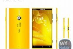 Nokia Lumia X — концепт Windows Phone смартфона в «золотом» корпусе