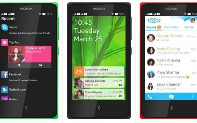 Nokia представила три смартфона на базе ОС Android (MWC 2014)