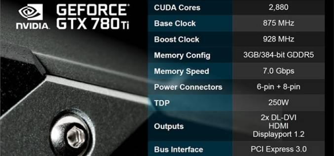 Nvidia анонсировала GeForce GTX 780 Ti — самый мощный одночиповый видеоадаптер компании