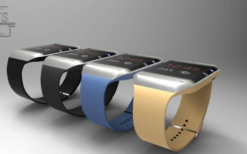 Рендер «умных» часов Galaxy Gear 2 (фото+видео)