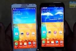 Сравнение двух версий смартфона Samsung Galaxy Note 3 (видео)