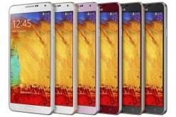 Samsung анонсировала цветные Galaxy Note 3