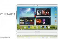 Samsung Galaxy Note 811 — 11.1″ Super AMOLED HD дисплей и 4-ядерный CPU на 1.9 ГГц