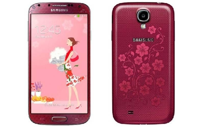 Samsung, ко Дню святого Валентина, выпустит смартфон Galaxy S4 La Fleur