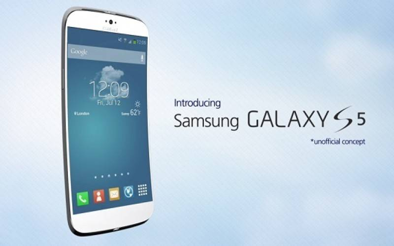 «Живое» фото упаковки Samsung Galaxy S5 с техническими характеристиками