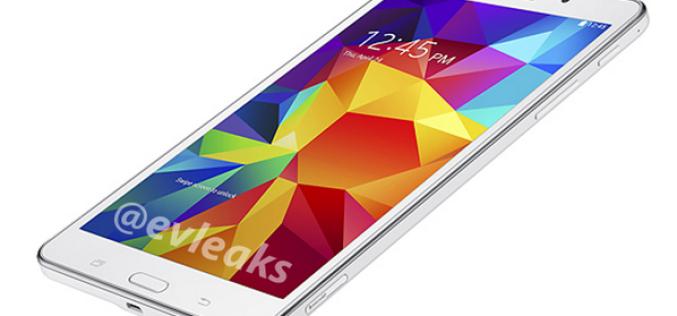 В сети появился первое пресс-фото планшета Samsung Galaxy Tab 4