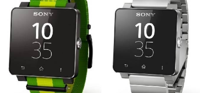 Спецверсия Sony SmartWatch 2 к ЧМ по футболу 2014 года