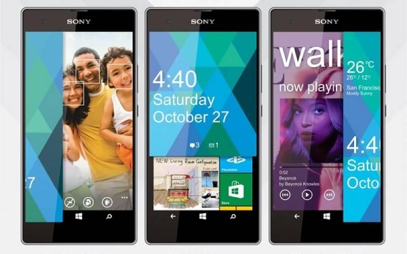Sony Vaio F1 — смартфон с 5.2″ дисплеем, 2 ГБ ОЗУ и ОС Windows Phone 9