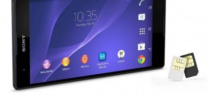 Sony объявила дату начала российских продаж смартфона Xperia T2 Ultra Dual