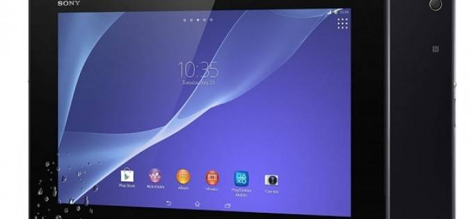Sony Xperia Z2 Tablet показан в рамках MWC 2014