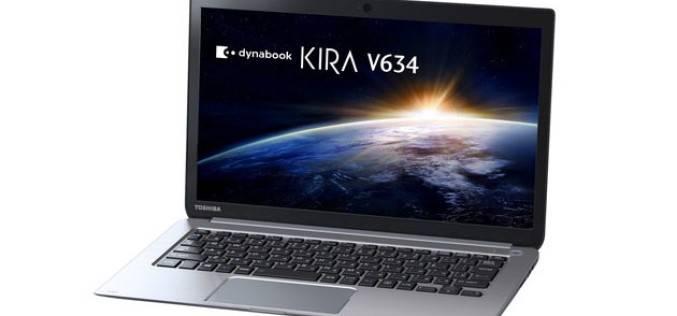 Toshiba представила ультрабуки серии KIRA со временем автономной работы в 22 часа