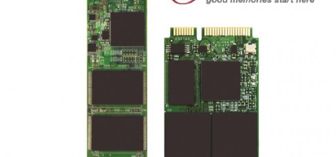 Transcend представила компактные твердотельные M.2 и mSATA-накопители для мобильных устройств