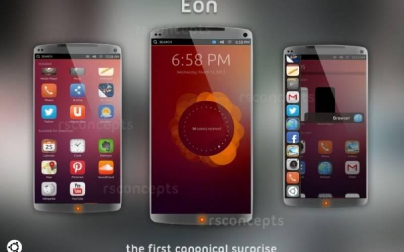 Canonical Eon — концептуальный смартфон на Ubuntu