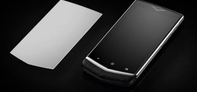 Новый роскошный смартфон Vertu Constellation под управлением ОС Android (фото)