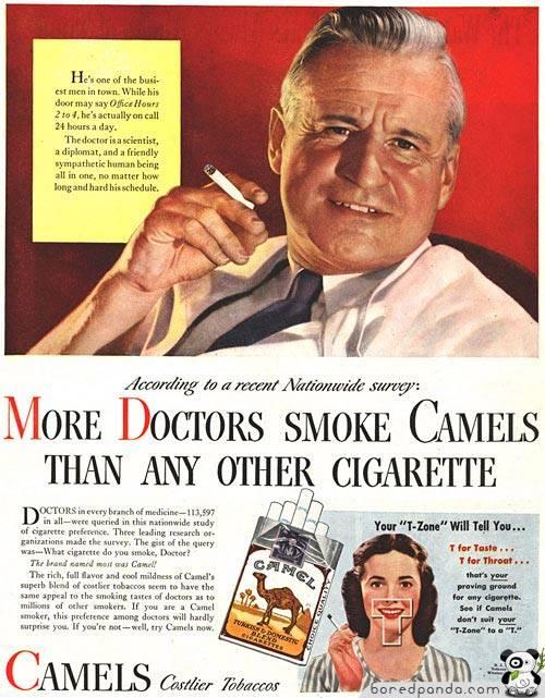 cigarette ads a matter of life essay
