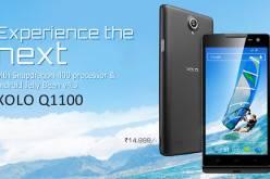 Смартфон Xolo Q1100 получил 5″ экран и платформу Qualcomm Snapdragon 400