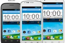 ZTE анонсировала три смартфона линейки Blade Q