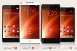 Смартфоны ZTE Nubia Z5S и Z5S mini представлены официально