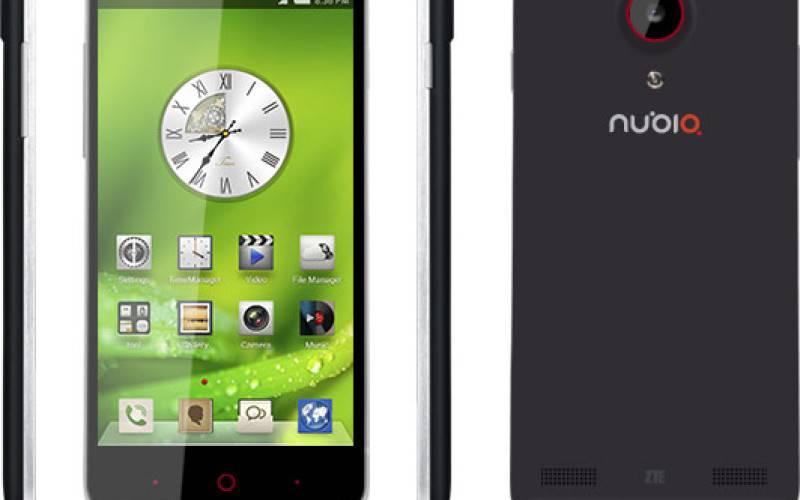 ZTE анонсировала смартфон Nubia 5
