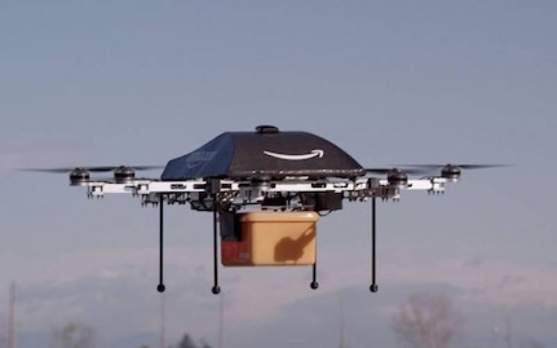 Amazon будет доставлять товары с помощью беспилотников (видео)