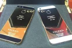 iPhone 5 в корпусе из 24-каратного золота (фото)