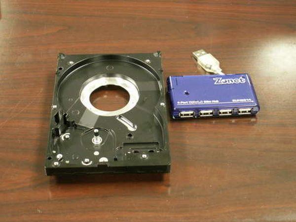 Как сделать жесткий диск usb