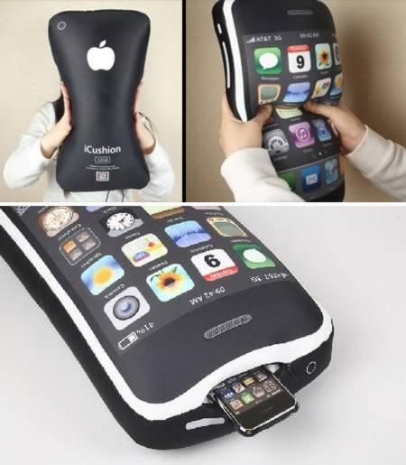 Как сделать так чтобы айфон появился под подушкой