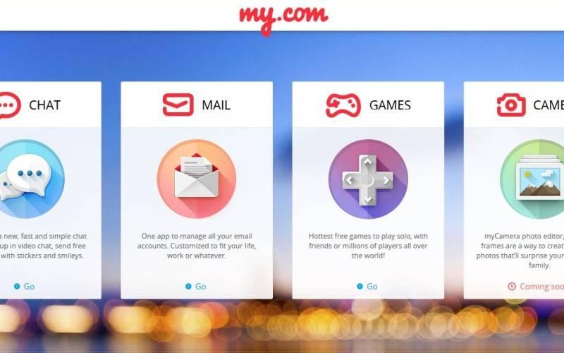 Mail.Ru Group запускает стартап My.com и открывает офис в Кремниевой долине