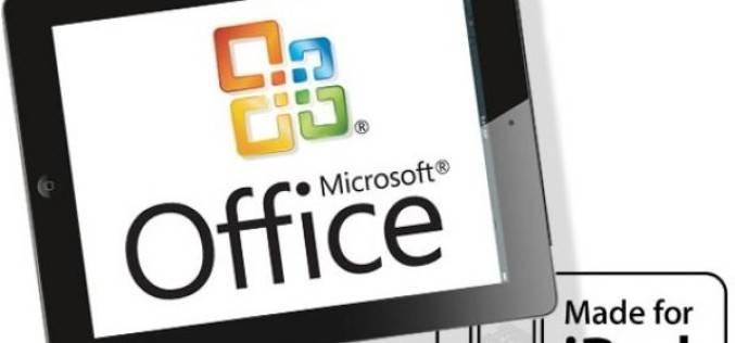 Microsoft выпустит Office для iPad 27 марта
