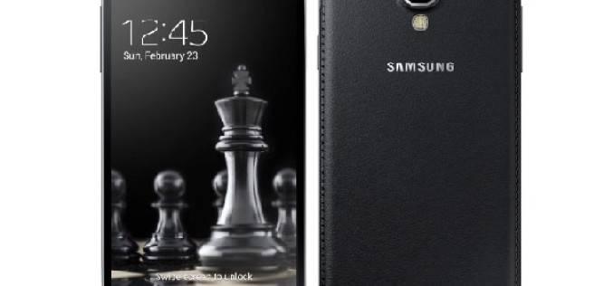 Samsung анонсировала выход черных смартфонов Galaxy S4 и S4 mini Black Edition