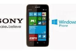 Sony будет выпускать смартфоны на базе Windows Phone