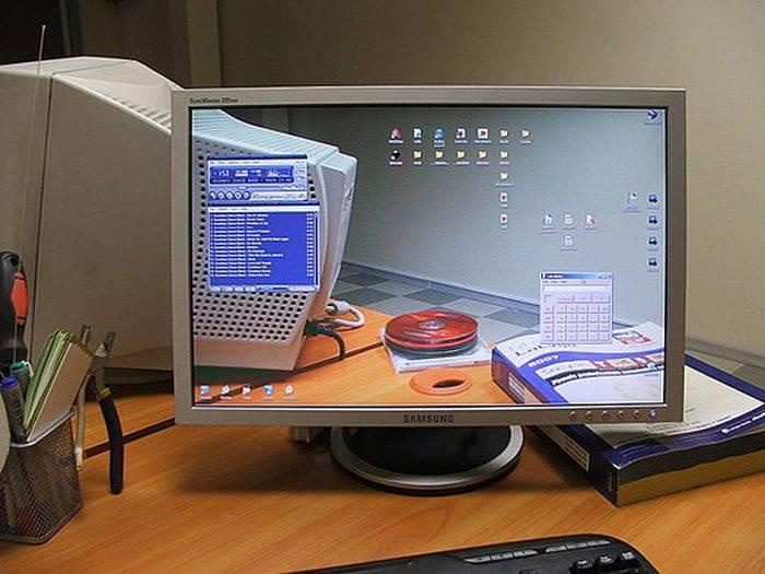 Как сделать компьютерный экран 270