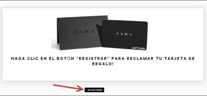 Мошенничество с использованием бренда Zara
