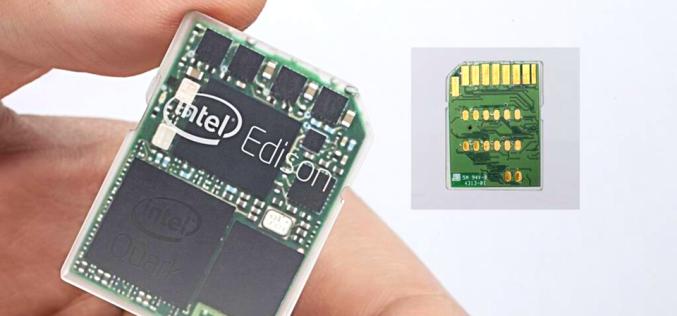 Intel® Edison официально доступен в России